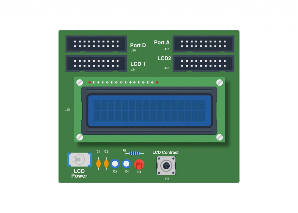 Character LCD in OpenLab