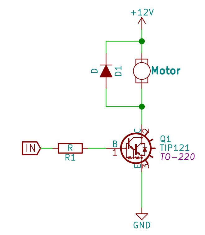 DC Motor interfacing
