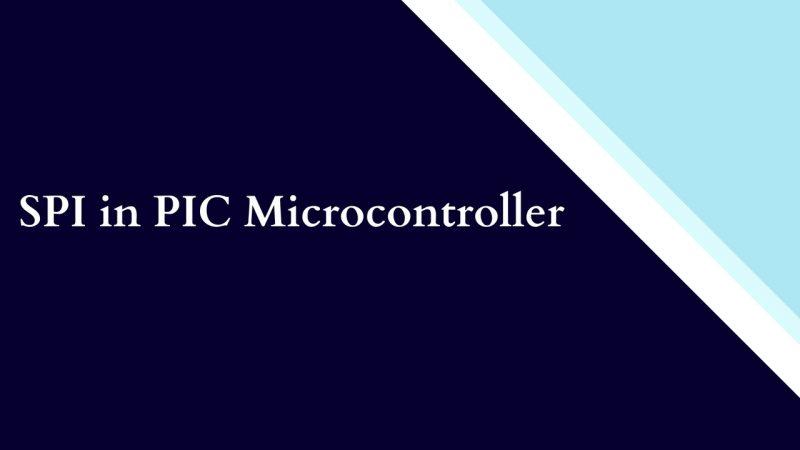SPI in PIC microcontroller