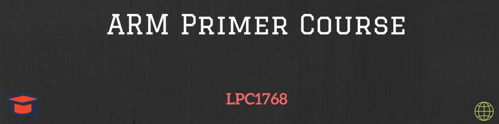 ARM Primer Course ARM online course