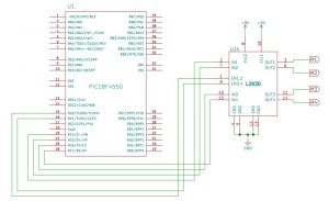 L293D_DC Motor Interfacing using L293D with PIC18F4550