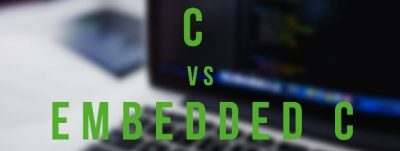 difference between C and embedded C